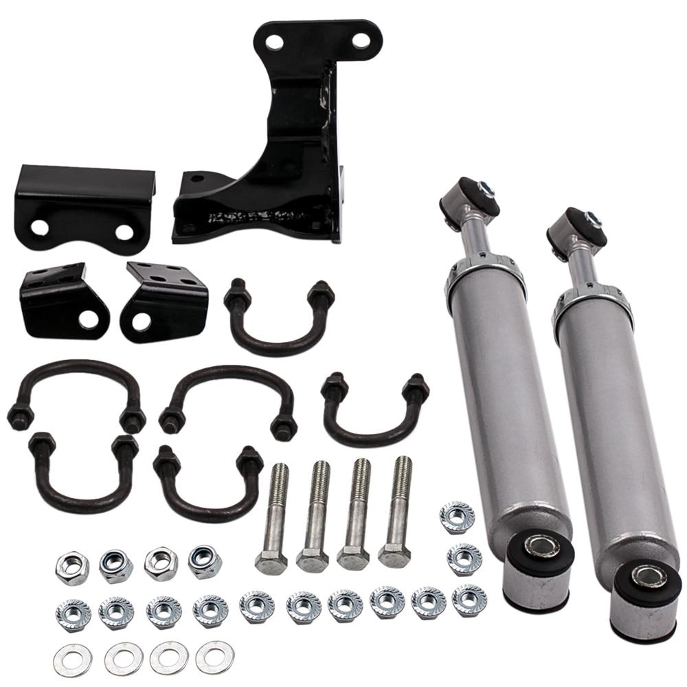 Dual Steering Stabilizer Kit 2007-2017 for Jeep Wrangler JK Dual Steering Stabilizer Damper car parts car accessories coco perla coco perla co039awiro98