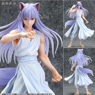 25cm YuYu Hakusho Demon Fox Kurama 1/8 Action Figures PVC brinquedos Collection Figures toys for christmas gift