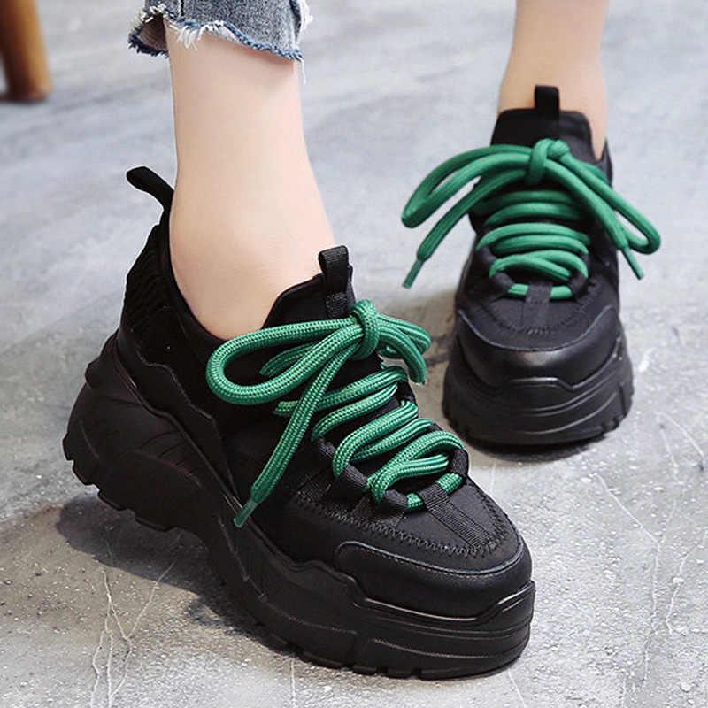 ผู้หญิง Vulcanized รองเท้าผู้หญิงฤดูใบไม้ผลิรองเท้าสบายรองเท้าสบายรองเท้าผู้หญิงรองเท้าผ้าใบ Trainers chaussure femme ผู้หญิงรองเท้า