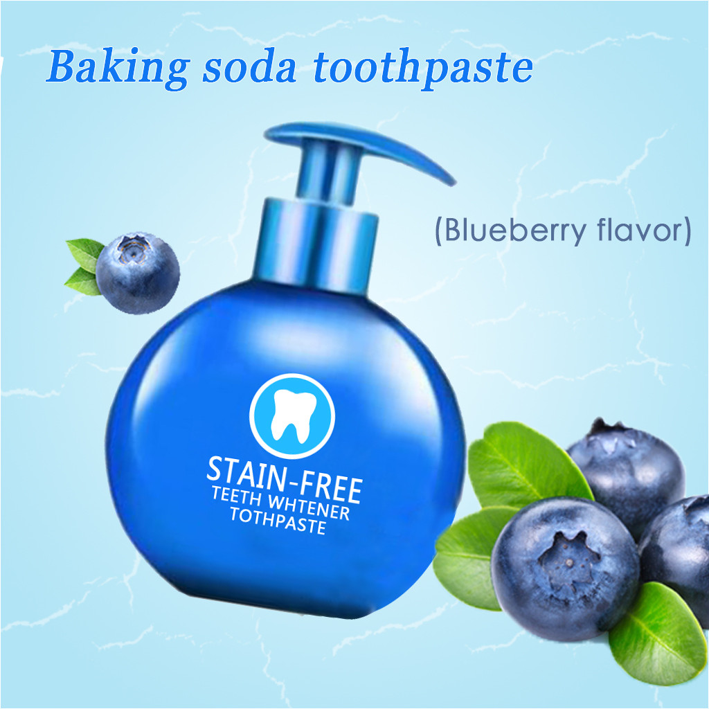 Whitening Toothpaste Baking-Soda Gums Bleeding Teeth 1PC New Stain 220g Fight Removal