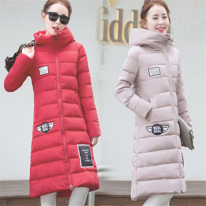 Cc022 Femmes 2018 gray Veste pink Black red Rembourrée Nouvelle Capuche Slim Bas green rx0wZY0Cq