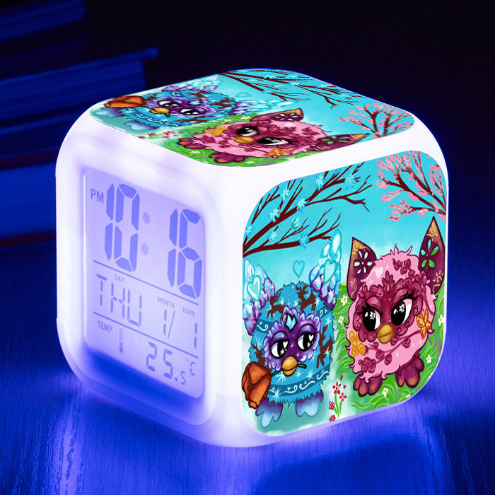 Furbiness Action Figure Toys Cute  Hamster Interactive Pets Owl  Birthday Gifts 7 Colors Flashing LED lightFurbiness Action Figure Toys Cute  Hamster Interactive Pets Owl  Birthday Gifts 7 Colors Flashing LED light