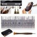 Универсальный 25 в 1 набор отверток Torx ferramentas herramientas Отвертки Бумажник Набор Ремонтных Инструментов Для iphone 4s 5s ручной инструмент