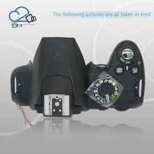 Teste OK! D3000 Top cover para nikon D3000 unidade aberta D3000 peças de reparo da câmara