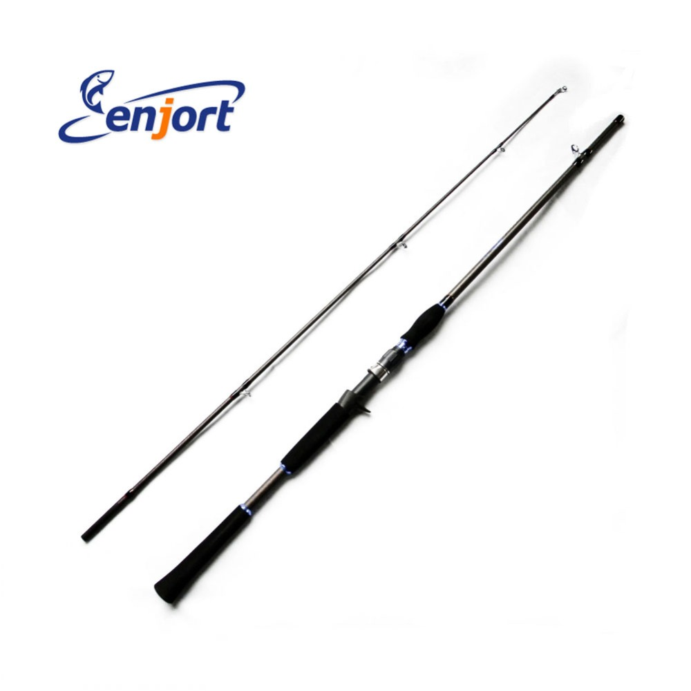 2 1 m fishing rod carbon fiber casting rods folding for Folding fishing rod