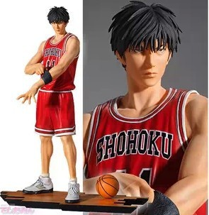 2017 1PCS 23CM pvc Japanese anime figure slam dunk Rukawa Kaede action figure collectible model toys brinquedos anime slam dunk rukawa kaede action figure number 11 ball suit figure model pvc classic collection toy garage kit brinquedos