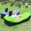 Camping mat Lazy Bag Inflatable Air Sofa Nylon Banana Beach Lounger Chair Bed Outdoor Portable Picnic Mat Pad Air Mattress