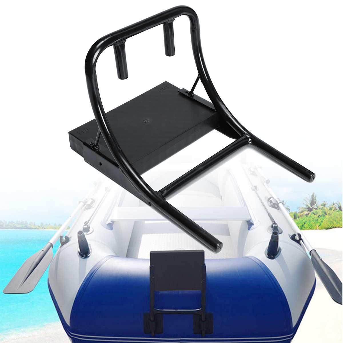 Moteur moteur accrocher Support petit Support pour 1.75/2 M bateau de pêche gonflable bateaux en caoutchouc - 6