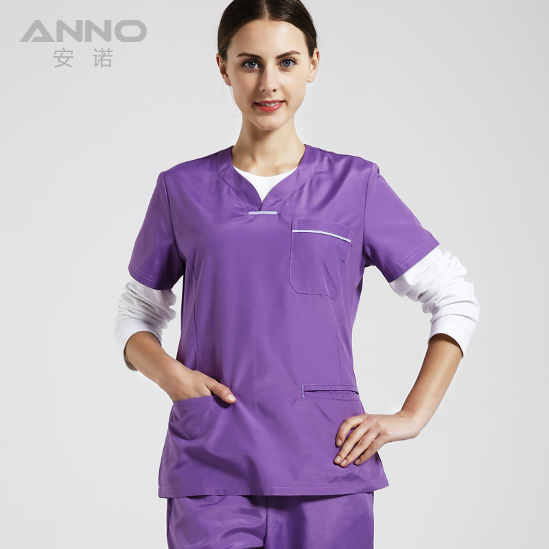 New arrival Medical workwear uniforms women39s V neck mens