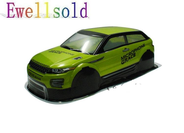 Ewellsold 1/10 RC car accessories 1/10 RC racing on-road drift car painted PVC Body Shell (430*190mm,wheelbase 255mm) ewellsold 044 190mm pvc painted 1 10 shell body for 1 10 1 10 rc car 2pcs lot free shipping