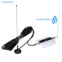 Mini W CDMA Signal Booster 2100Mhz 3G Signal Repeater WCDMA UMTS 3G Cell Phone Signal Amplifier