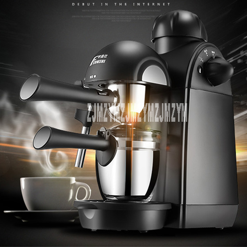 MD-2001 coffee machine home-style small semi-automatic steam cooker 220V / 800W home intelligent fully automatic american style coffee machine drip type small is grinding ice cream teapot one machine