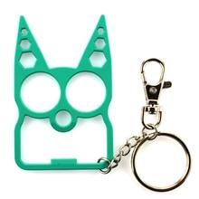 Portable Cute Cat Opener Screwdriver Keychain Self-defense Multifunction Outdoor Gadgets MC889