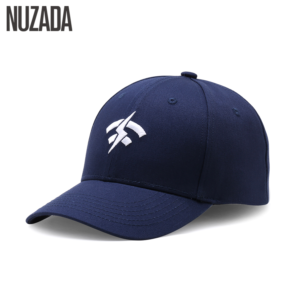 Brand NUZADA Embroidery Baseball Cap For Men Women Double Layer Bone 6 Colors Spring Summer Caps Cotton Snapback Cotton Hats brand nuzada snapback summer baseball caps for men women fashion personality polyester cotton printing pattern cap hip hop hats