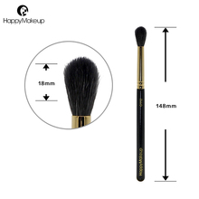 Happy Makeup Eyeshadow Brushes Natural Goat Hair Tapered Blending font b Eye b font font b