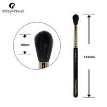 Happy Makeup Eyeshadow Brushes Natural Goat Hair Tapered Blending Eye Shadow Shader Eye Crease Brush Cosmetic Professional 1pcs
