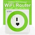 VONETS Wireless 300 Mbps Profesional En La Pared WiFi Router & Bridge wi-fi Repetidor con puerto de Carga USB para Home Hotel habitaciones