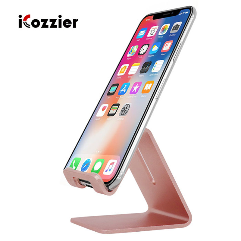 Aluminum Alloy Tablet Holder Desktop Mobile Phone Holder Stand Mount Support Bracket Universal for ipad Pro Air Mini 1 2 3 4 in Tablet Stands from Computer Office