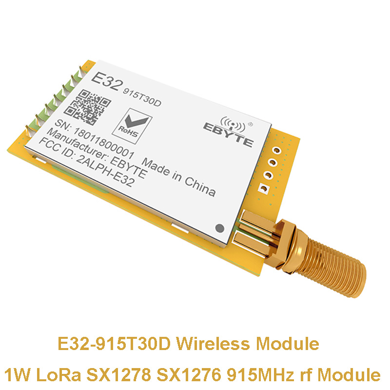 Communication Equipments 1pc 915mhz Lora Sx1276 Rs485 Rs232 Long Range E32-dtu-915l30 Wireless Transceiver Uhf Rf 915m Dtu Wifi Transmitter Fixed Wireless Terminals