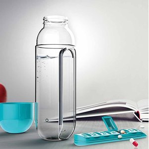 600ML Water Bottle with Built-