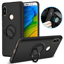 Magnetic Finger Ring Case for Xiaomi Mi A1 A2 Mix 2 Mi6 Mi 8 Case 360 Holder Case for Redmi 4X 4A S2 6 6A 5 Plus Note 5A Prime(China)