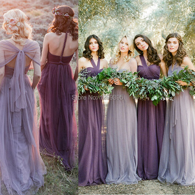 Lavender Bridesmaid Dresses Convertible Bridesmaid Dress Six Styles ...