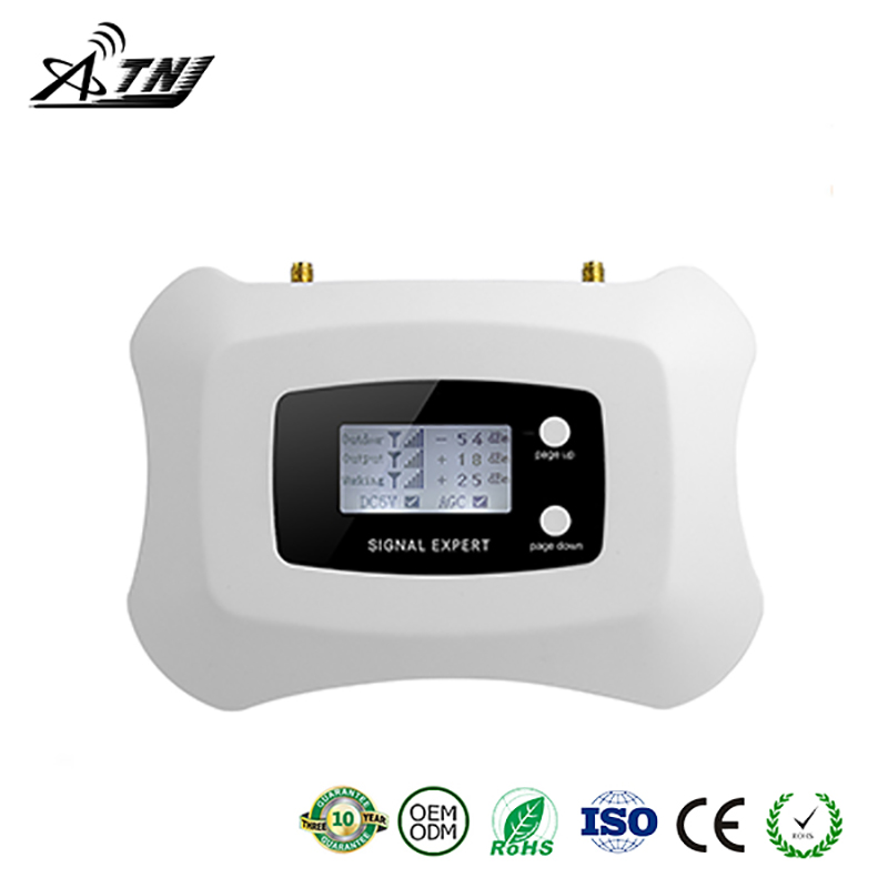 2019 Full Intelligent LCD display 3G 2100MHz signal Repeater cellular signal booster amplifier work for Russia..etc Asia,Europe