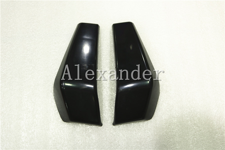 black Plastic Motorcycle Radiator Side Cover Guard Protector Pelon For KTM DUKE 125 200 390 2013 2014 2015 2016 KTM125 KTM200 image