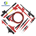 DMM08B  8Pair/sets Electronic Specialties Test Lead Kit Automotive Test Probe Kit Universal Multimeter Probe Leads Kit