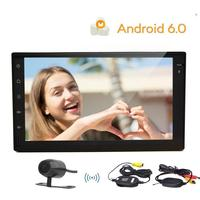2 Din HD Capacitive Screen Car Stereo Android 6 0 Car Receiver Audio Head Unit Automotive