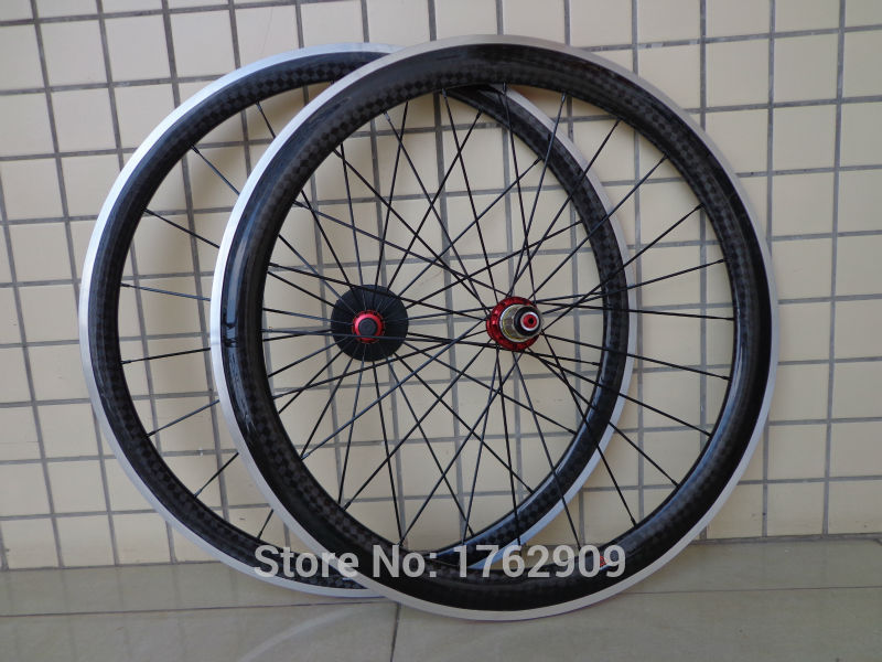 Newest 700C front 38mm+rear 50mm clincher rims Road bike 12K carbon fibre bicycle wheelsets with alloy brake surface Free ship 1pcs new 700c 38mm clincher rim road bike matte ud carbon fibre bicycle wheels rims with aluminum alloy brake surface free ship