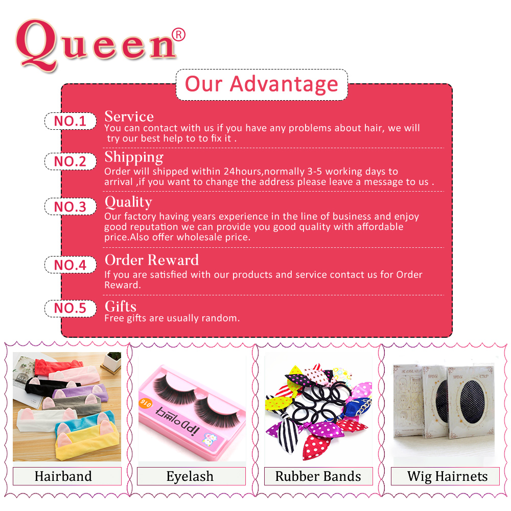 Queen Hair Products Brazilian Straight Human Hair Bundles With Frontal Closure Brazilian Remy Hair Weave Bundles With Closure
