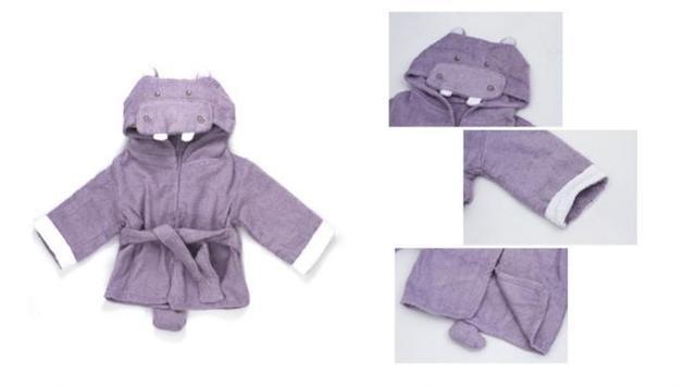 Nova moda prático as crianças da casa de banho de algodão dos desenhos animados do bebê baby toalha de banho / masculino / feminino frete grátis