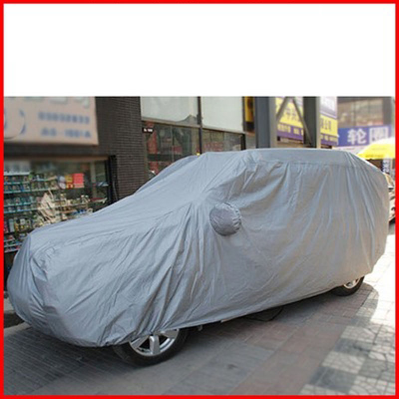170T Car Cover SUV Large Waterproof Coat Sun UV Snow Dust Rain Resistant Protection Size YXL/YL/YM image