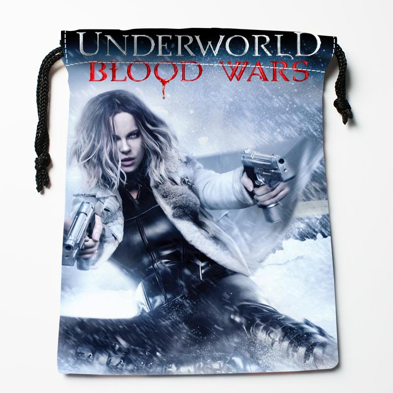 New Arrive Underworld: Blood Wars Drawstring Bags Custom Storage Bags Storage Printed Gift Bags Size 27x35cm DIY Your Picture