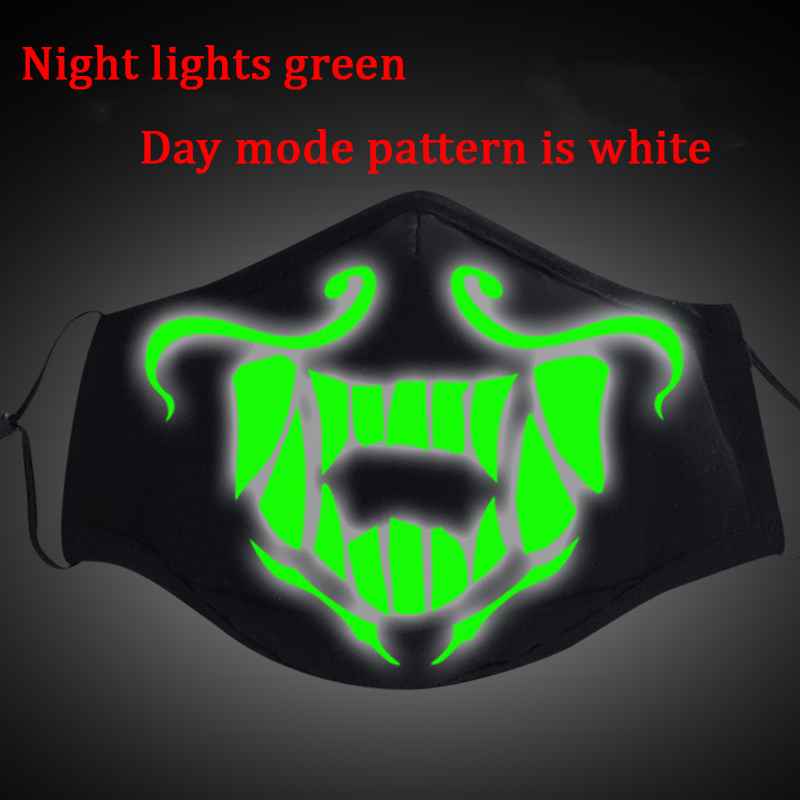 Image 3 - Game LOL KDA Akali Masque Cosplay Props S8 Mask Night Lights Face