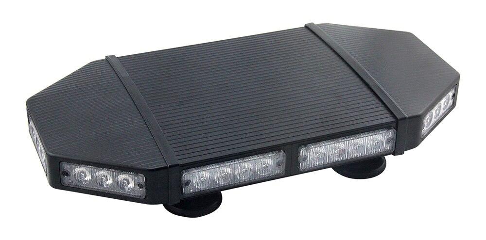 Offres spéciales 34 LED super qualité 3 W flash lumière modèles stroboscope avertissement véhicule mini police lightbar
