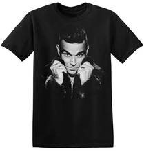 T Shirt Summer Style MenS Broadcloth Crew Neck  Robbie Williams Short-Sleeve
