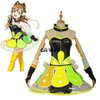 Love Live Sunshine Aqours Kunikida Hanamaru Cyber Video Games Tee Tube Top Dress Uniform Outfit Anime Cosplay Costumes