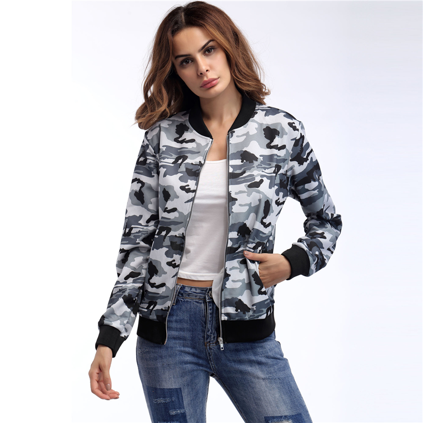Jackets   Women 2018   Basic     Jackets   Winter Bomber   Jackets   Casaco Feminino Casual Jaqueta Feminina Chaquetas Mujer Zipper Coat Women