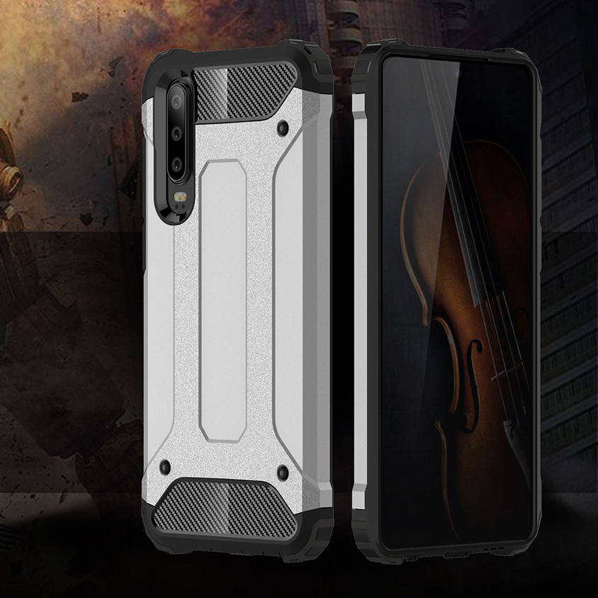 Shockproof Armor Coque Cover 6.0For Huawei P30 Case For Huawei P30 ELE-L29 ELE-L09 ELE-AL00 ELE-TL00 Phone Back Coque Cover Case