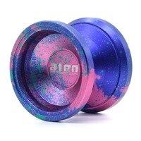 VOSUN O2 Aten металла йо Профессиональный Йо-Йо 10 шарики подшипника Европейский оригинальный дизайн реагирует йо 1A 3A 5A