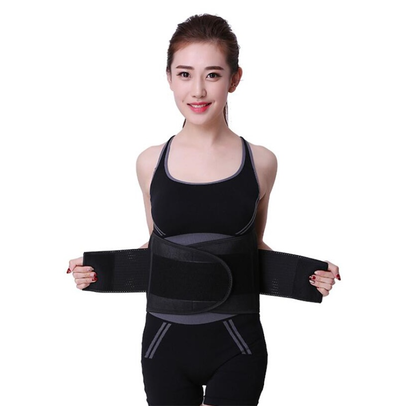 personal health care Warm Adjustable Waist Magnetic Therapy Back Waist Support Belt Lumbar Brace Massage Band 4