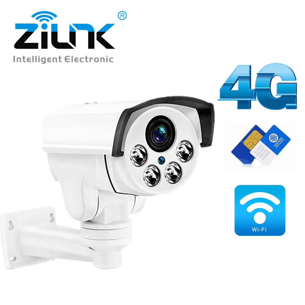 3G 4G SIM Card Camera 1080P 960P 3516C+SONY323 PTZ 5X Zoom IR 50M Outdoor Security WIFI IP Camera Bullet Camera Wireless CamHi free 32gb sd card ptz cam 1080p 960p 3g 4g sim card camera wifi outdoor hd bullet camera wireless 5x zoom auto focus ip camera