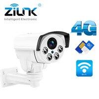 3g 4G sim карты Камера 1080 P 960 P 3516C + SONY323 PTZ 5X зум ИК 50 м Открытый безопасности WI FI IP Камера пуля Камера Беспроводной CamHi