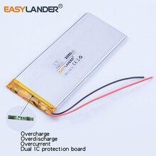 Bateria de Polímero Lítio para China 3046113 Xwd P 3145113 3.7 V 2050 Mah de Clone Goophone 4.7 I6 5.5 Iphone 6 S Plus Gps Dvr