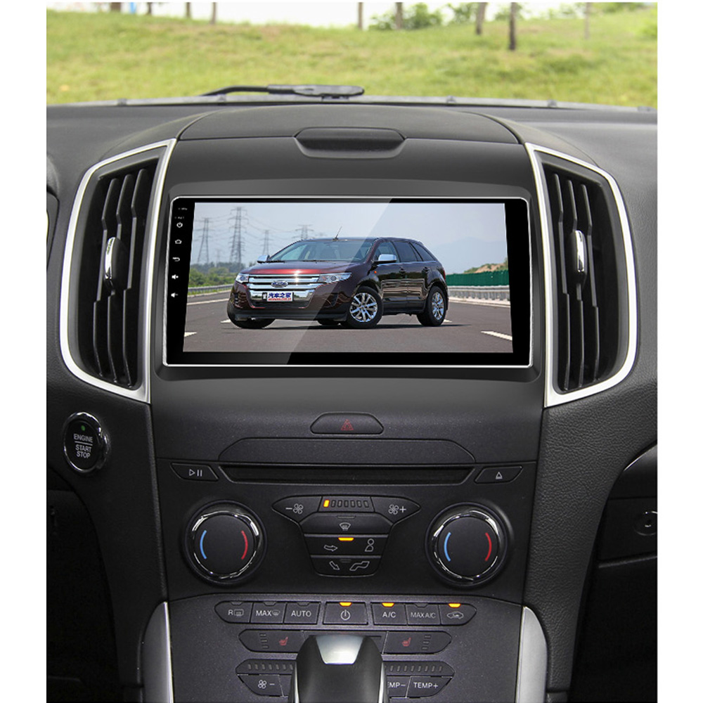 Beidouyh Android  Inch Car Navigator For Ford Edge   Support Can Bus Rds Radio Obd Rear View Camera Dvr Gps Navigation In Car Multimedia Player