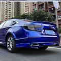 Спойлер заднего крыла для Honda Accord  качественный ABS пластик  окрашенный цвет  задний спойлер на крыло  крышу  багажник  крышка для багажника  че...