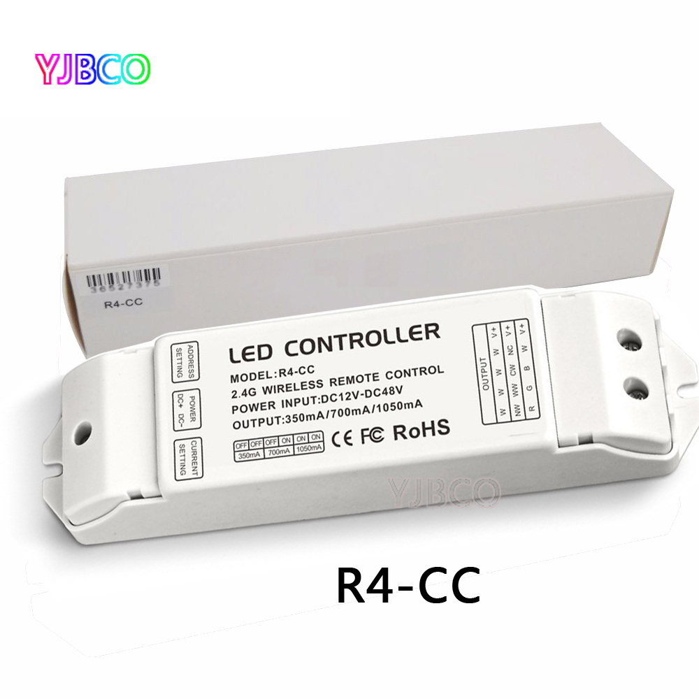 R4-CC Zone constant current receiver DMX512 decoder led Receiving controller DMX signal driver 2.4G wireless led dimmer светодиодная лампа 10 cree xlamp xml2 xm l2 t6 u2 10w led 16