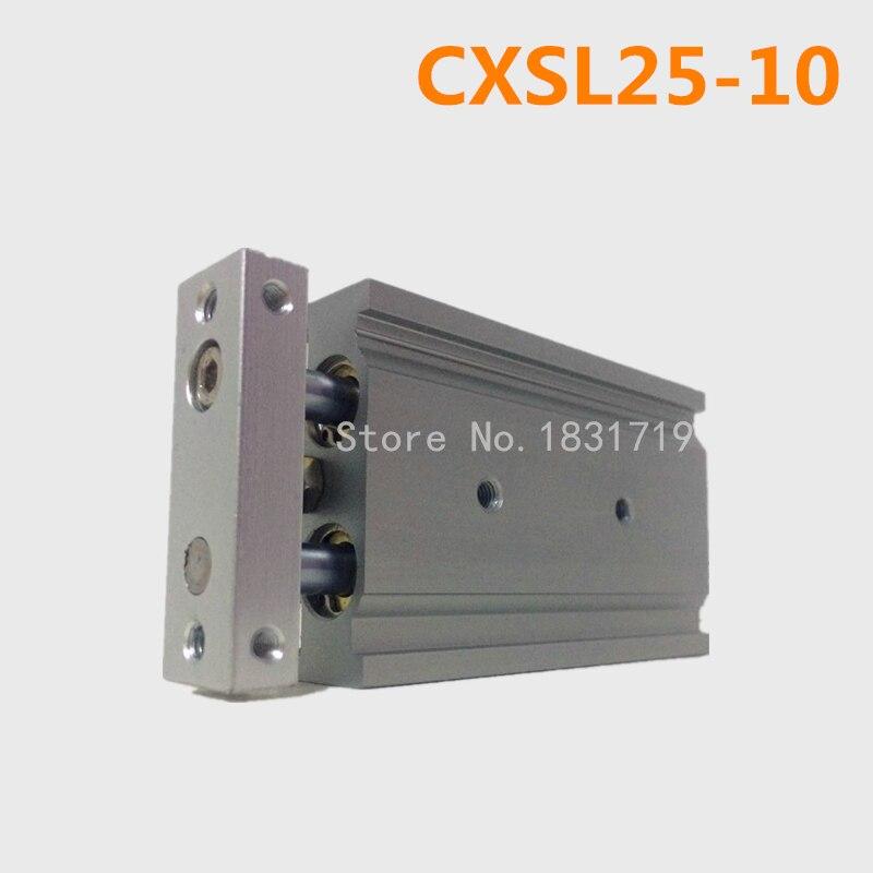 CXSL25-10 Duplex double bar cylinder ball bearings Pneumatic components CXSL25X10CXSL25-10 Duplex double bar cylinder ball bearings Pneumatic components CXSL25X10